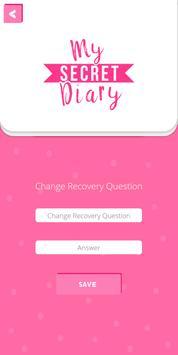 My Personal Diary with Fingerprint Password screenshot 7