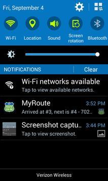 MyRoute Screenshot 4