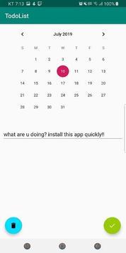 Schedule - My Todo poster