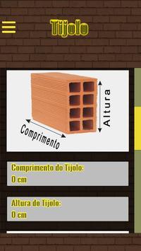 Orçamento para Tijolo screenshot 1