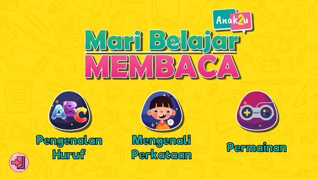 Anak2U - Mari Belajar Membaca poster