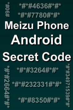 Mobiles Secret Codes of MEIZU poster