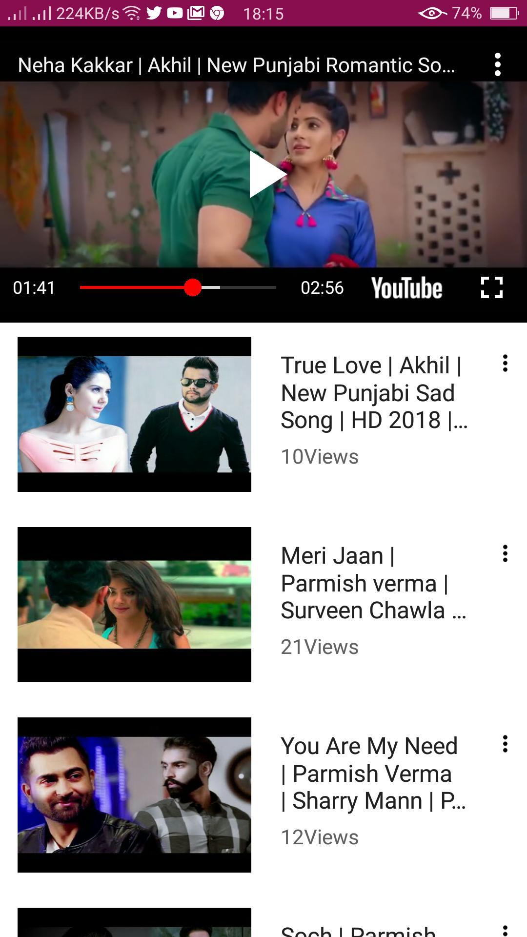 Punjabi sad song video download