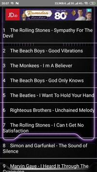 The Best Song Collection Of 1960's all time screenshot 3