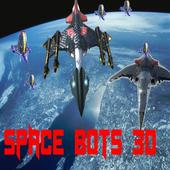 Space Bots 3D Trial v1.0: Space Alien Shooter Game icon