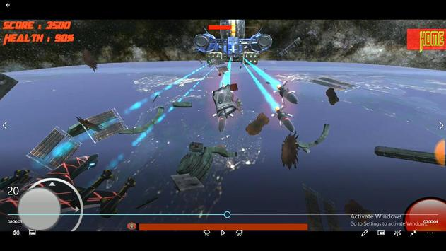 Space Bots 3D Trial v1.0: Space Alien Shooter Game poster