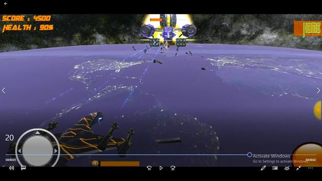 Space Bots 3D Trial v1.0: Space Alien Shooter Game screenshot 1