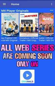 MX Originals poster