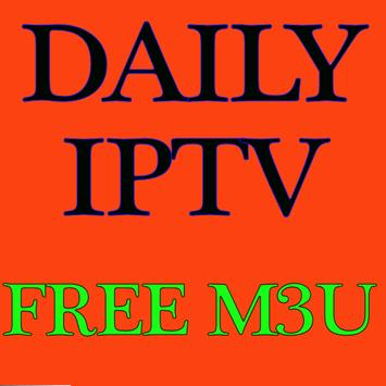 Daily IPTV Free For You M3u Playlist poster