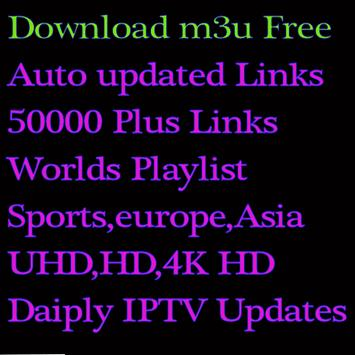 Daily IPTV Free For You M3u Playlist screenshot 1