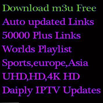 Daily IPTV Free For You M3u Playlist screenshot 3