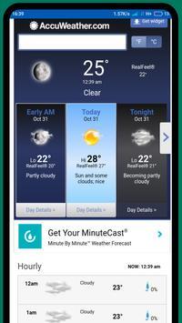 Macau weather 澳門天气 screenshot 1