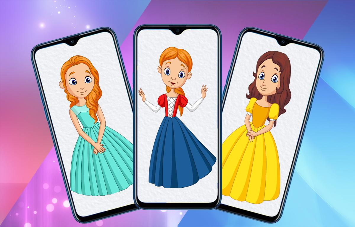 How To Draw Cartoon Characters Step By Step Easy For Android Apk