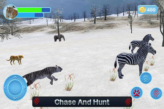 Wild White Tiger: Jungle Hunt screenshot 15