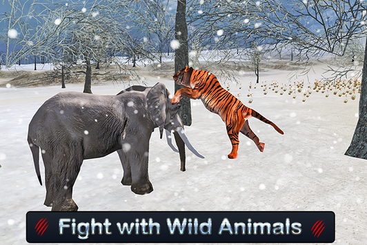 Wild White Tiger: Jungle Hunt screenshot 16