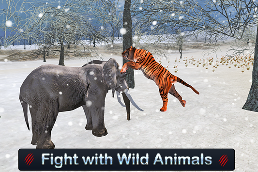Wild White Tiger: Jungle Hunt screenshot 11