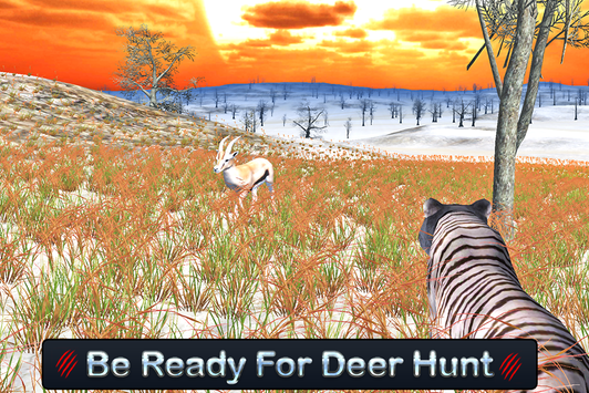 Wild White Tiger: Jungle Hunt screenshot 13
