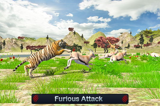 Wild White Tiger: Jungle Hunt screenshot 2