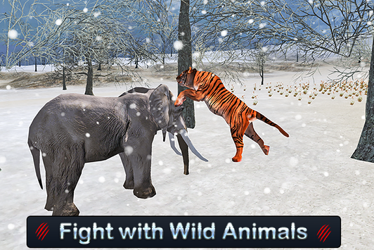 Wild White Tiger: Jungle Hunt screenshot 5