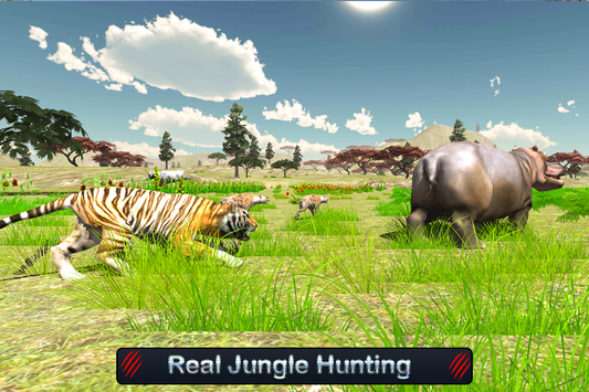 Wild White Tiger: Jungle Hunt screenshot 6