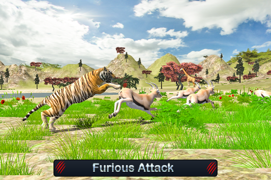 Wild White Tiger: Jungle Hunt screenshot 8