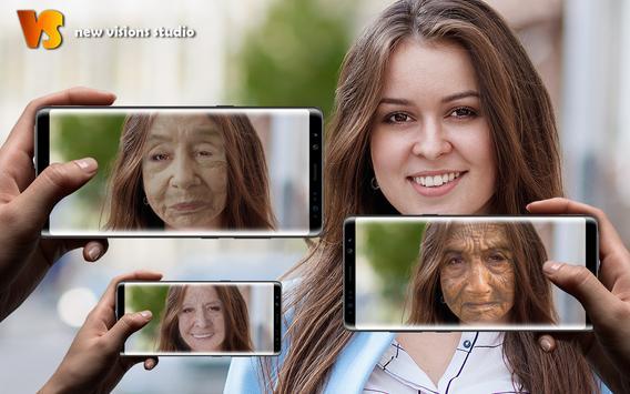 Visage Éditeur De Photos Vieillissement Du Visage capture d'écran 2