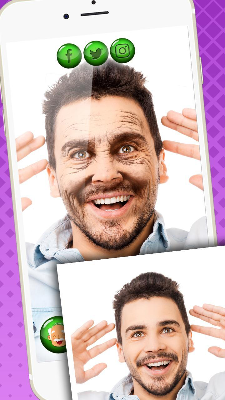 Make Me Old Photo Editor - Age My Face App for Android - APK Download