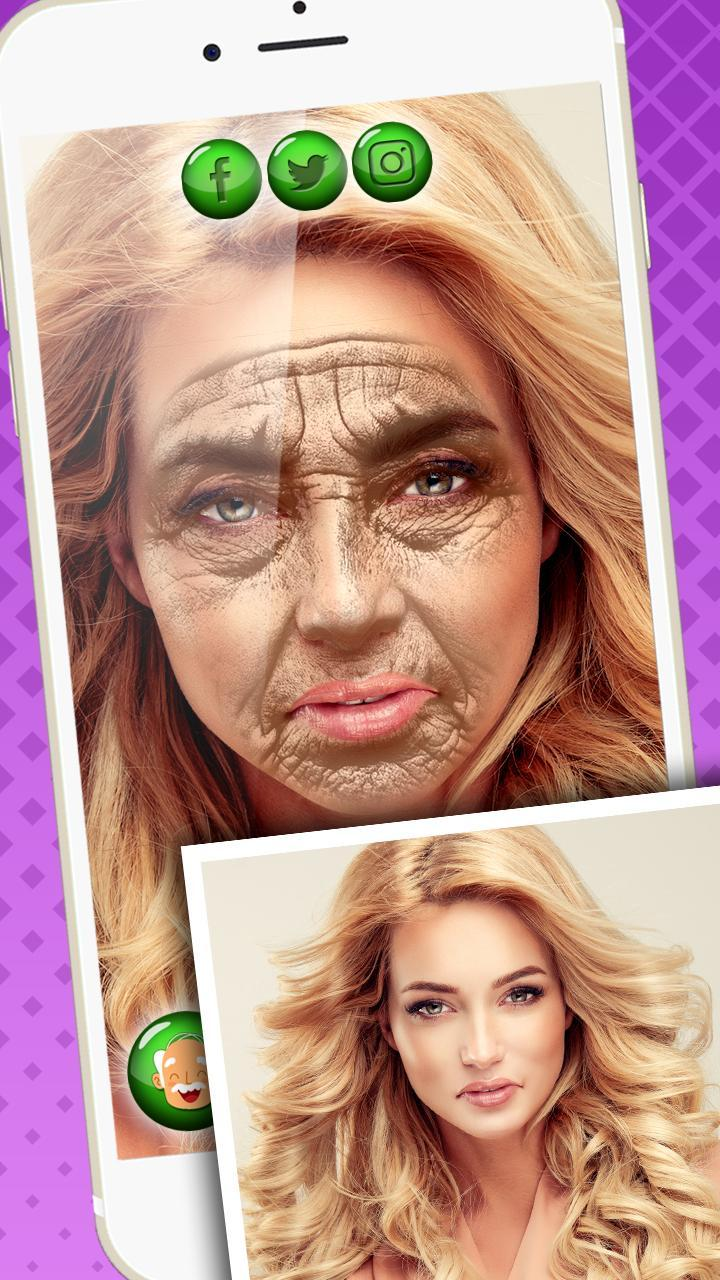 Make Me Old Photo Editor - Age My Face App for Android - APK