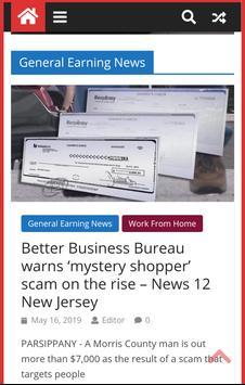 Make Money Online Ways and News screenshot 1