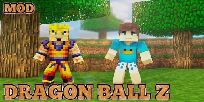 Saiyan Mod for Minecraft PE poster