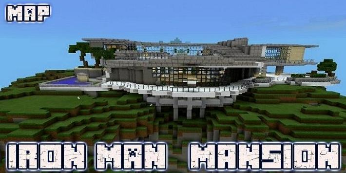 Stark Mansion Map MCPE screenshot 2