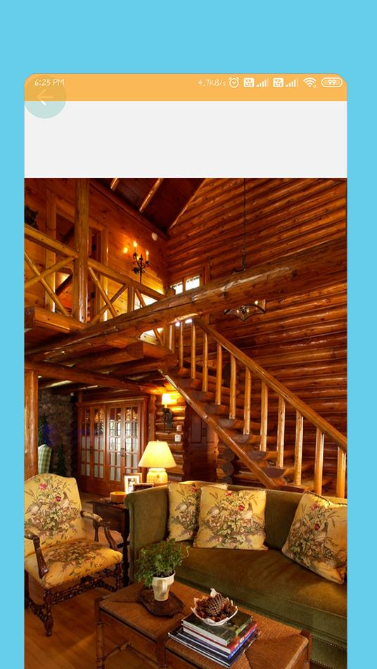 Log Cabin Living Room Ideas For Android Apk Download