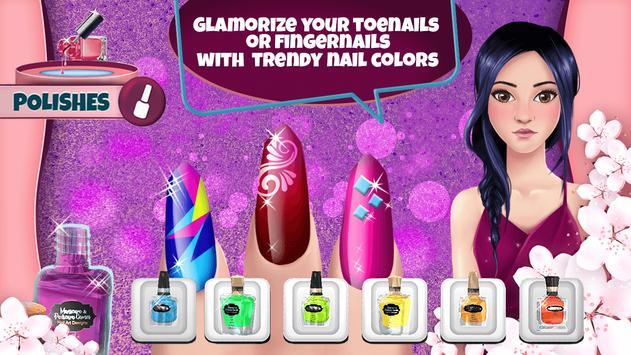 Manicure and Pedicure Games: Nail Art Designs screenshot 1