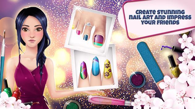Manicure and Pedicure Games: Nail Art Designs screenshot 4