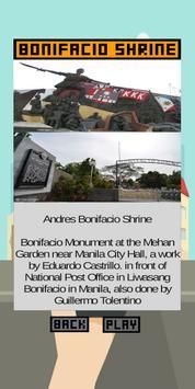 Manila Historical Guide Application screenshot 1
