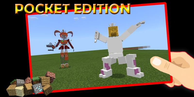 Animatronic mod Minecraft for Android APK Download