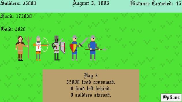The Crusades screenshot 1