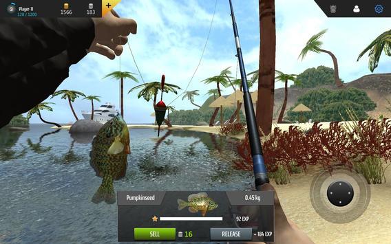 Professional Fishing capture d'écran 4