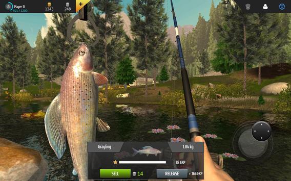 Professional Fishing capture d'écran 5
