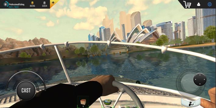 Professional Fishing capture d'écran 6