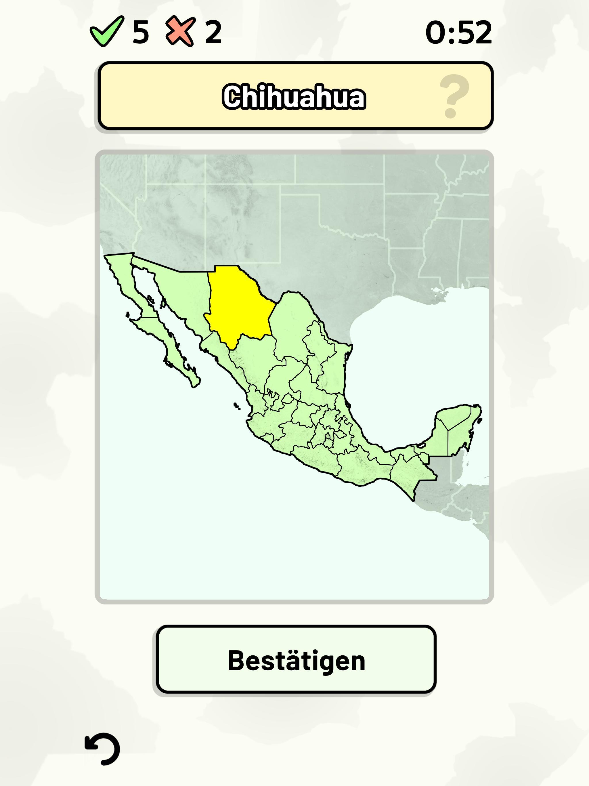 Mexiko Staaten Karte.Mexikanische Staaten Quiz Karten Flaggen Usw Fur