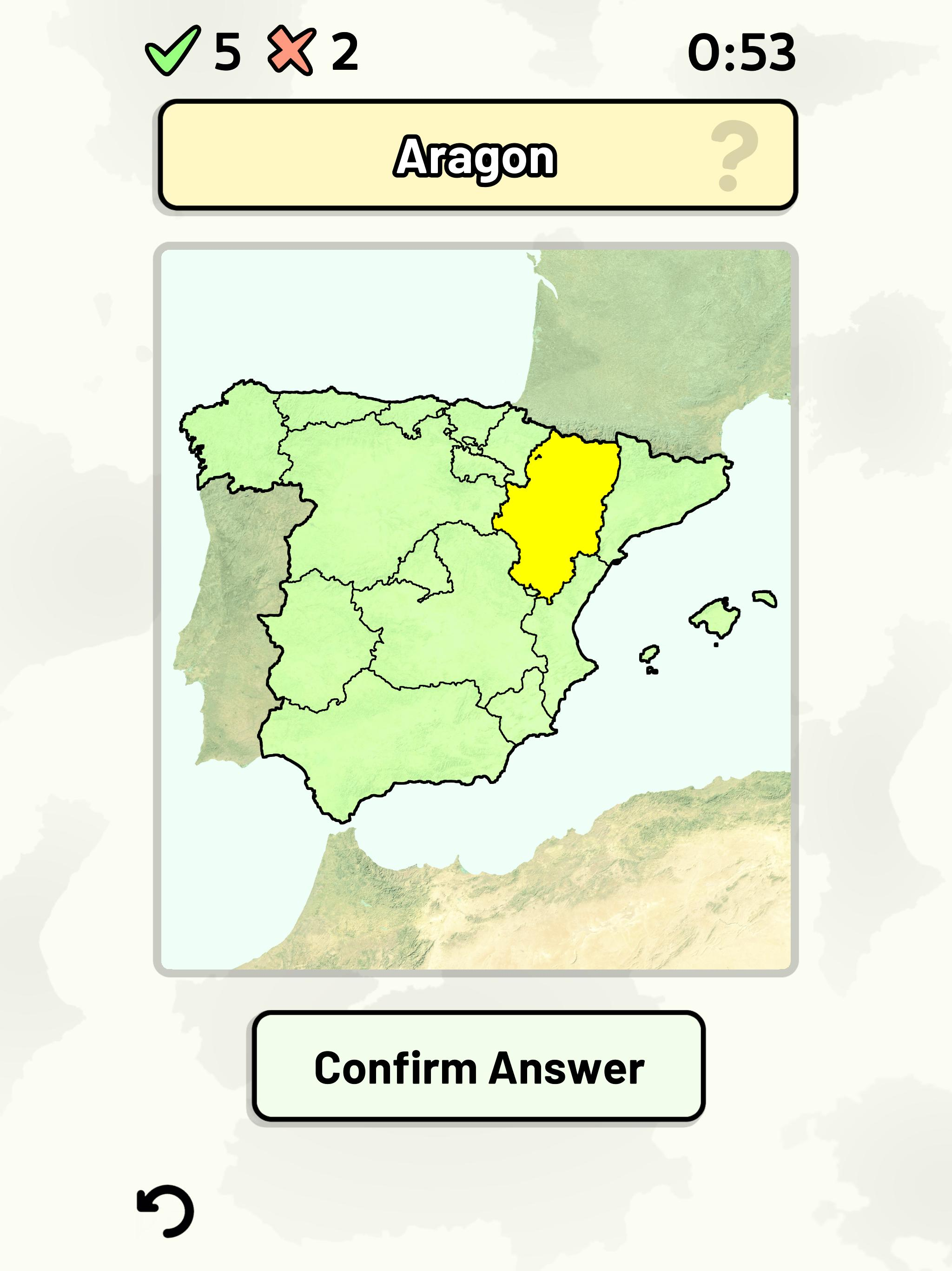 Map Of Spain Quiz.Autonomous Communities Of Spain Quiz For Android Apk Download