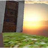Labyrinth sky 3D icon