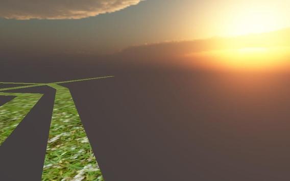 Labyrinth sky 3D poster