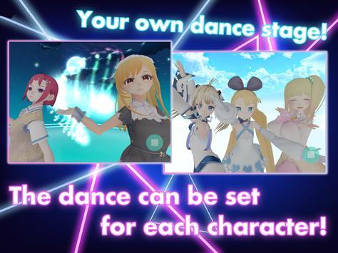DanceDreamMV MMD✕VRoid Live Simulator screenshot 9