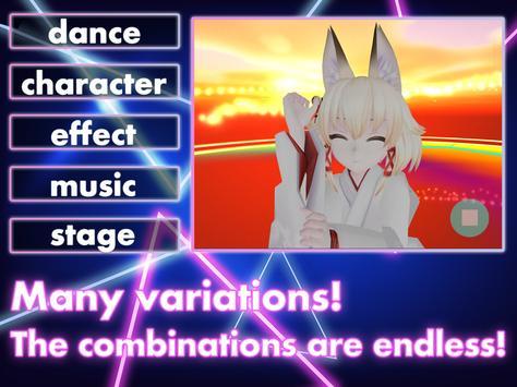 DanceDreamMV MMD✕VRoid Live Simulator screenshot 10