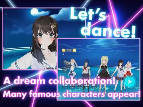DanceDreamMV MMD✕VRoid Live Simulator screenshot 4
