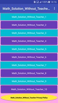 Math_Solution_Without_Teacher poster