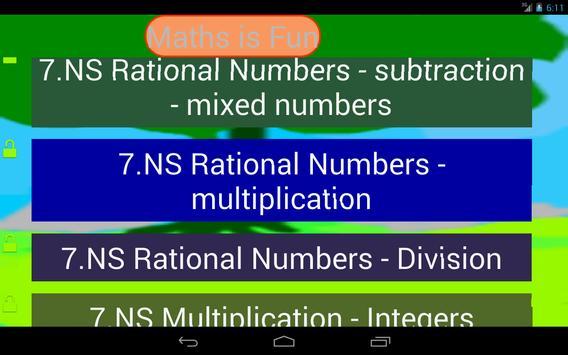 Seventh Grade Kids Math Guru-L screenshot 2