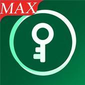 MAX VPN Free VPN Proxy Server, Hotspot VPN Service icon